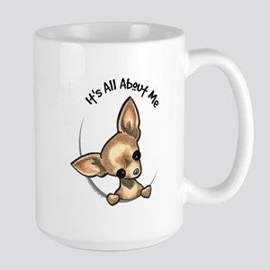 Tan Chihuahua IAAM Large Mug