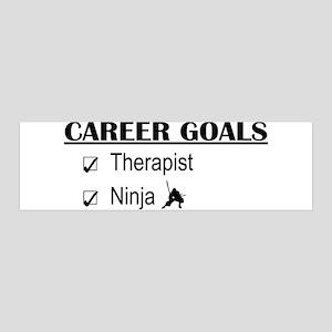 Therapist Career Goals 36x11 Wall Peel