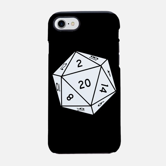 D20 Dice iPhone 7 Tough Case