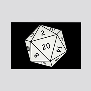 D20 Dice Magnets