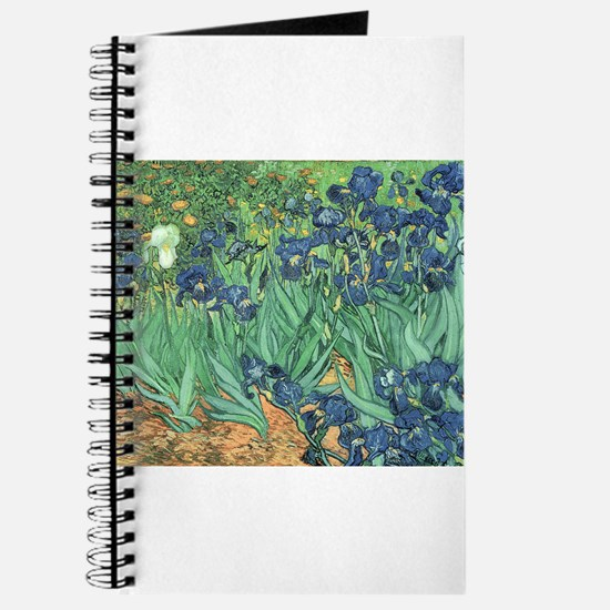 Cute Irises vase van gogh Journal