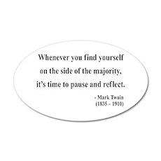 Mark Twain 11 20x12 Oval Wall Peel