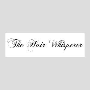 The Hair Whisperer 36x11 Wall Peel
