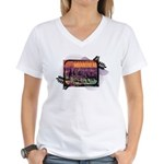 Moantreal Women's V-Neck T-Shirt