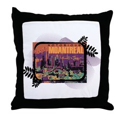 Moantreal Throw Pillow