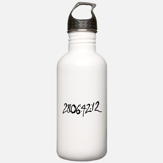 End Of World Water Bottle