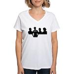 LTT Rushmore Women's V-Neck T-Shirt