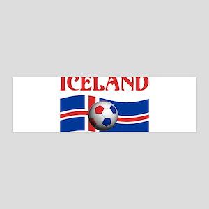 TEAM ICELAND WORLD CUP 36x11 Wall Peel