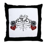 RIP Riley Throw Pillow