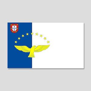Azores Flag 20x12 Wall Peel