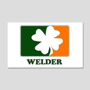 Irish WELDER 20x12 Wall Peel