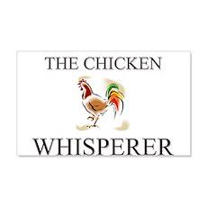 The Chicken Whisperer 20x12 Wall Peel