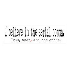 Serial Comma 36x11 Wall Peel