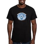 Adequacy Acheived! Men's Fitted T-Shirt (dark)