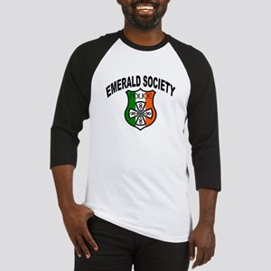 Police Emerald Society Baseball Jersey