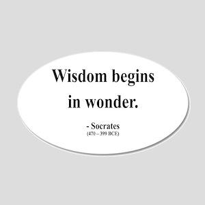 Socrates 2 20x12 Oval Wall Peel