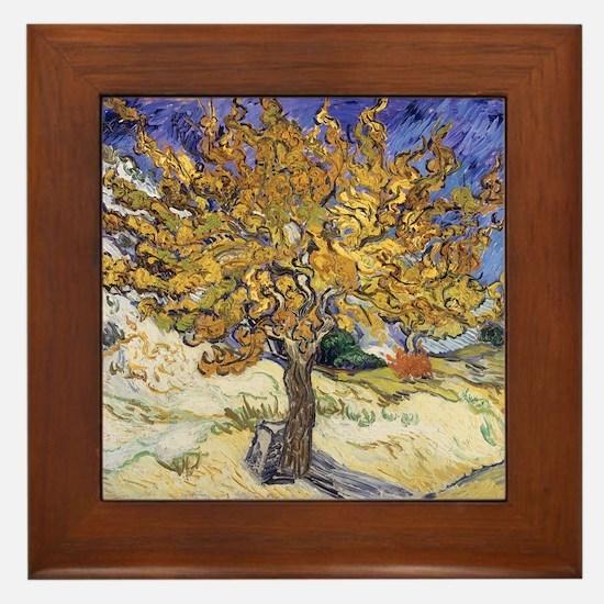 Funny Mulberry Framed Tile