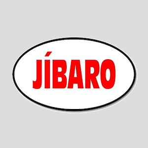 JIBARO... 20x12 Oval Wall Peel