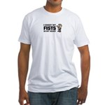Fists in My Heart Fitted T-Shirt