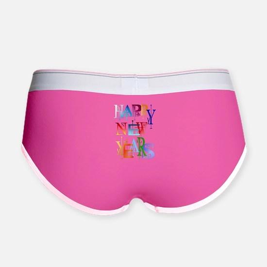 Happy New Years Women's Boy Brief