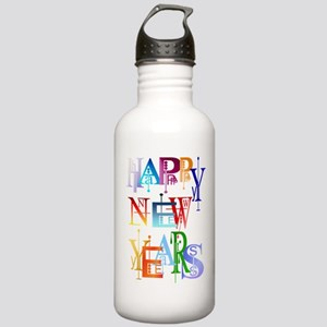 Happy New Years Stainless Water Bottle 1.0L