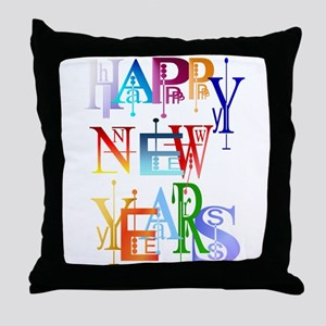 Happy New Years Throw Pillow