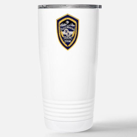 Hoffman Estates Police Stainless Steel Travel Mug