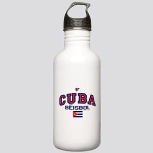 CU Cuba Baseball Beisbol Stainless Water Bottle 1.
