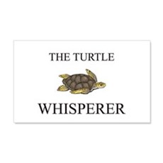 The Turtle Whisperer 20x12 Wall Peel