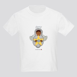 April Baby Angel Birthstone Kids T-Shirt