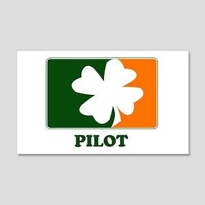 Irish PILOT 20x12 Wall Peel