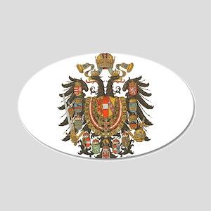 Austria-Hungary 20x12 Oval Wall Peel
