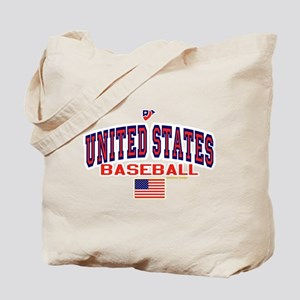 United States(USA) Baseball Tote Bag