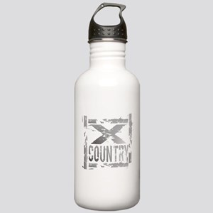 Cross Country Grunge Stainless Water Bottle 1.0L
