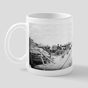 80 Pound Whitworth Cannon Mug