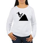 Go Snowboarding! Women's Long Sleeve T-Shirt