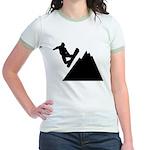 Go Snowboarding! Jr. Ringer T-Shirt
