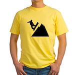 Go Snowboarding! Yellow T-Shirt