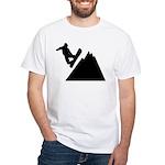 Go Snowboarding! White T-Shirt