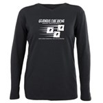 Gelatinous Cube Racing Plus Size Long Sleeve Tee