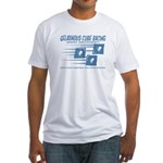 Gelatinous Cube Racing Fitted T-Shirt