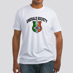 Police Emerald Society Fitted T-Shirt