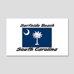 Surfside Beach South Carolina Sticker (Rectangular