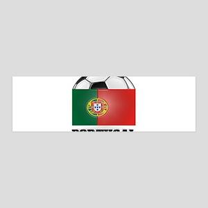 Portugal Soccer 36x11 Wall Peel