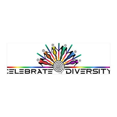 Celebrate Diversity 36x11 Wall Peel