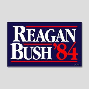 Reagan Bush '84 Campaign 20x12 Wall Peel