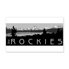 The Rockies 20x12 Wall Peel
