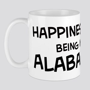 Happiness is Alabama Mug