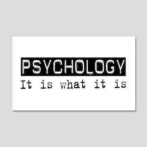 Psychology Is 20x12 Wall Peel
