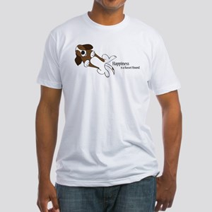 Basset Love Fitted T-Shirt